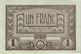 Franz. Westafrika / French West Africa P.34a 1 Francs (1944) (3)