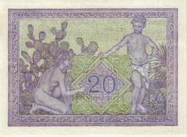 Algerien / Algeria P.092a 20 Francs 1943 (1/1-)