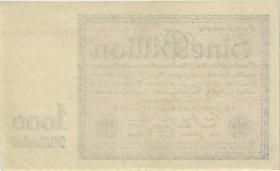 R.131b: 1 Billion Mark 1923 (2) Firmendruck