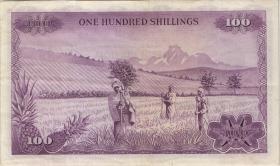 Kenia / Kenya P.10c 100 Shillingi 1972 (3)