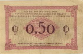 Frankreich / France 50 Centimes 1920 (3+)