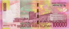 Indonesien / Indonesia P.153d 100.000 Rupien 2014 (2)