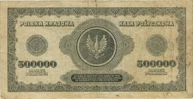 Polen / Poland P.036 500.000 Mark 1923 (3-)