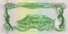 Libyen / Libya P.46a 10 Dinars (1980) (1)