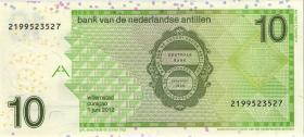 Niederl. Antillen / Netherlands Antilles P.28f 10 Gulden 2012 (1)