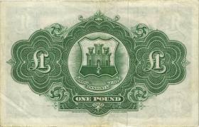 Gibraltar P.18a 1 Pound 1958 (3)