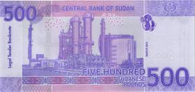 Sudan P.neu 500 Sudanese Pounds 2019 (1)