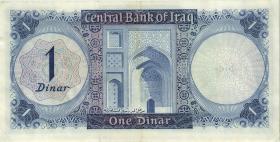 Irak / Iraq P.058 1 Dinar 1971 (1/1-)