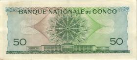 Kongo / Congo P.005 50 Francs 1.6.1962 (1-)
