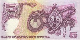 Papua-Neuguinea / Papua New Guinea P.13c 5 Kina (1992) (1)