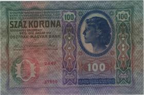 Tschechoslowakei / Czechoslovakia P.012 100 Kronen 1912 (1)