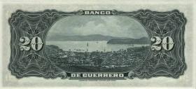 Mexiko / Mexico P.S300b 20 Pesos o.D. Banco de Guerrero (1)