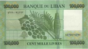 Libanon / Lebanon P.95c 100.000 Livres 2017 (1)