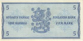 Finnland / Finland P.099 5 Markkaa 1963 (1/1-)