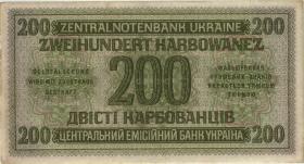 R.598b: Besetzung Ukraine 200 Karbowanez 1942 (2)