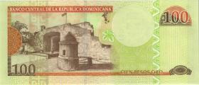 Dom. Republik/Dominican Republic P.177c 100 Pesos Oro 2010 (1)