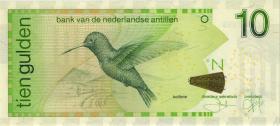 Niederl. Antillen / Netherlands Antilles P.28e 10 Gulden 2011 (1)