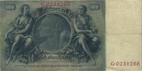 R.176a: 100 Reichsmark 1935 Liebig V/G (3)