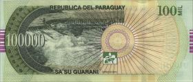 Paraguay P.neu 100.000 Guaranies 2017 (2018) (1)