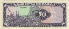 Nicaragua P.136 50 Cordobas 1979 (2)