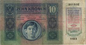 Tschechoslowakei / Czechoslovakia P.001a 10 Kronen 1919 (4)
