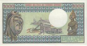 Zentralafrikanische Republik / Central African Republic P.010 1000 Fr. 1.1.1980 (1)