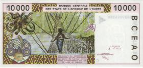 West-Afr.Staaten/West African States P.314Cg 10.000 Francs 1998 Burkina Faso (1)