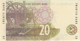 Südafrika / South Africa P.124a 20 Rand (1993) Serie AA (1)