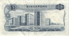 Singapur / Singapore P.01c 1 Dollar (1971) (3)