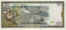 Syrien / Syria P.110c 500 Pounds 1998 (1)