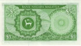 Malaysia P.14b 5 Ringgit (1981) (1)