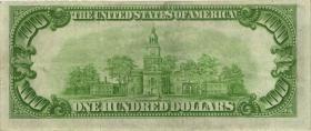 USA / United States P.424 100 Dollars 1928A (3+)