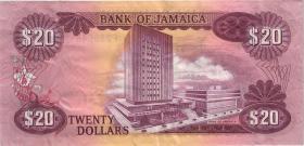 Jamaika / Jamaica P.63 20 Dollars (1976) (3)