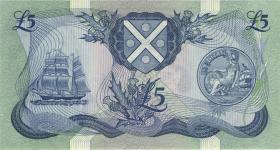 Schottland / Scotland P.112f 5 Pounds 1988 (1)