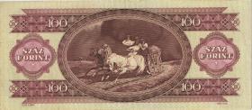 Ungarn / Hungary P.174b 100 Forint 1993 (2)