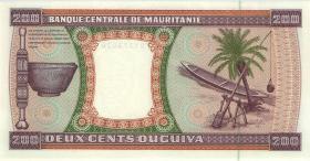 Mauretanien / Mauritania P.05g 200 Ouguiya 1995 (1)