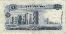 Singapur / Singapore P.01b 1 Dollar (1967) (3)