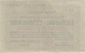 RVM-26a Reichsbahn Berlin 0,42 Mark Gold = 1/10 Dollar RA 7.11.1923 (1-)