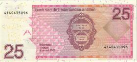 Niederl. Antillen / Netherlands Antilles P.29e 25 Gulden 2008 (1)