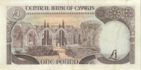 Zypern / Cyprus P.53d 1 Pounds 1.9.1995 (3)