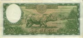 Nepal P.15 100 Rupie (1961) (3+)