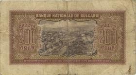 Bulgarien / Bulgaria P.064 200 Lewa 1943 (4)