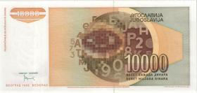 Jugoslawien / Yugoslavia P.116b 10.000 Dinara 1992 (1)