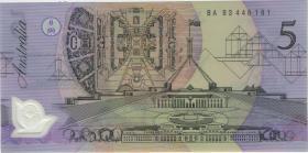 Australien / Australia P.50c 5 Dollars (19)93 BA 93 Polymer (1)
