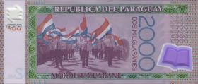 Paraguay P.neu 2000 Guaranies 2017 (2018) Polymer (1)