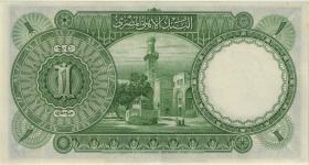 Ägypten / Egypt P.22c 1 Pfund 19.1.1945 (2+)