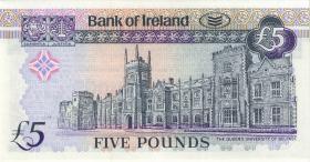 Nordirland / Northern Ireland, Bank of Ireland P.074b 5 Pounds 1998 (1)