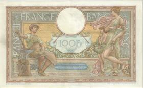 Frankreich / France P.086b 100 Francs 1939 (2)