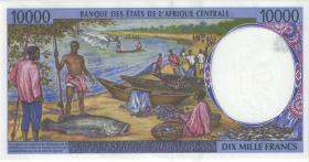 Zentral-Afrikanische-Staaten / Central African States P.605Pc 10.000 Francs 1997 Tschad (1)