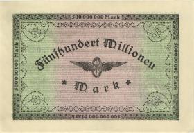 PS1289 Reichsbahn Köln 500 Millionen Mark 1923 (2)